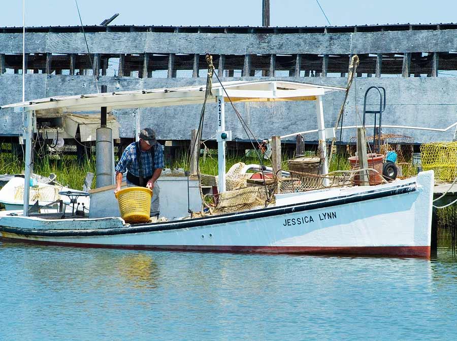 A waterman on Smith Island.