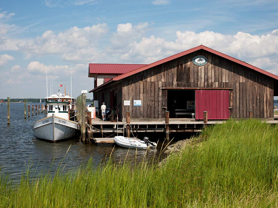 Chesapeake Bay Maritime Museum (image courtesy Michael Land)